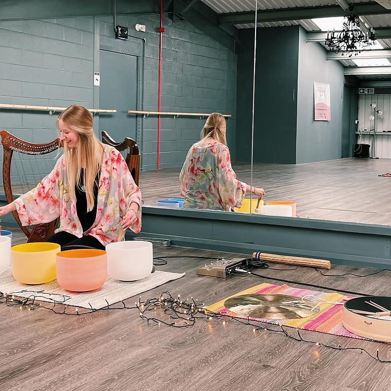 Mindful Monday Evening Sound Bath at Vanessa Flow Yoga