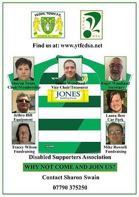 YTFC DSA Committee 2020-2021 Named Revis