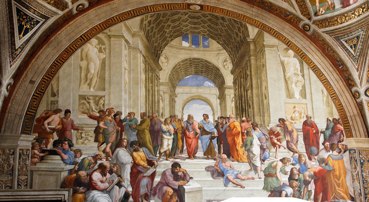 Ecole d'Athènes de Raphael