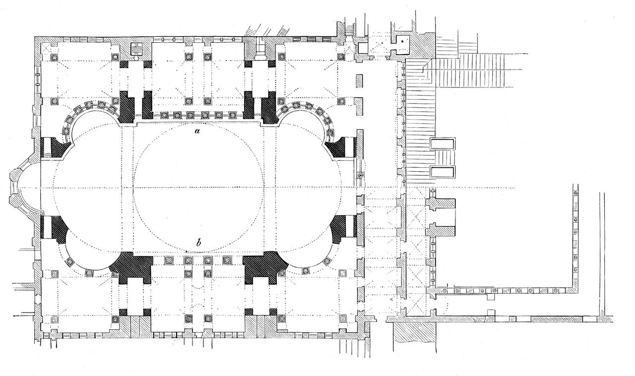 Plan-Hagia_Sophia-deux-niveaux