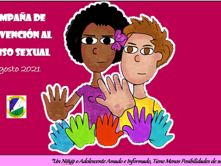 Facebook Live - Martes 24 de Agosto 8:30 - 9:30 AM - Prevención al Abuso Sexual