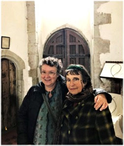 Janice and Jane at St Mary's church.jpg