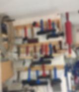 Hazelnut Press Rollers