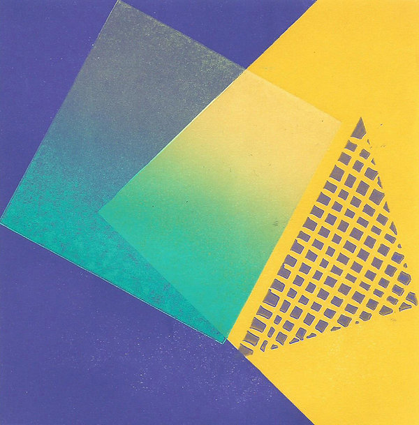 Frances Bray - Light and Shade Linoprint
