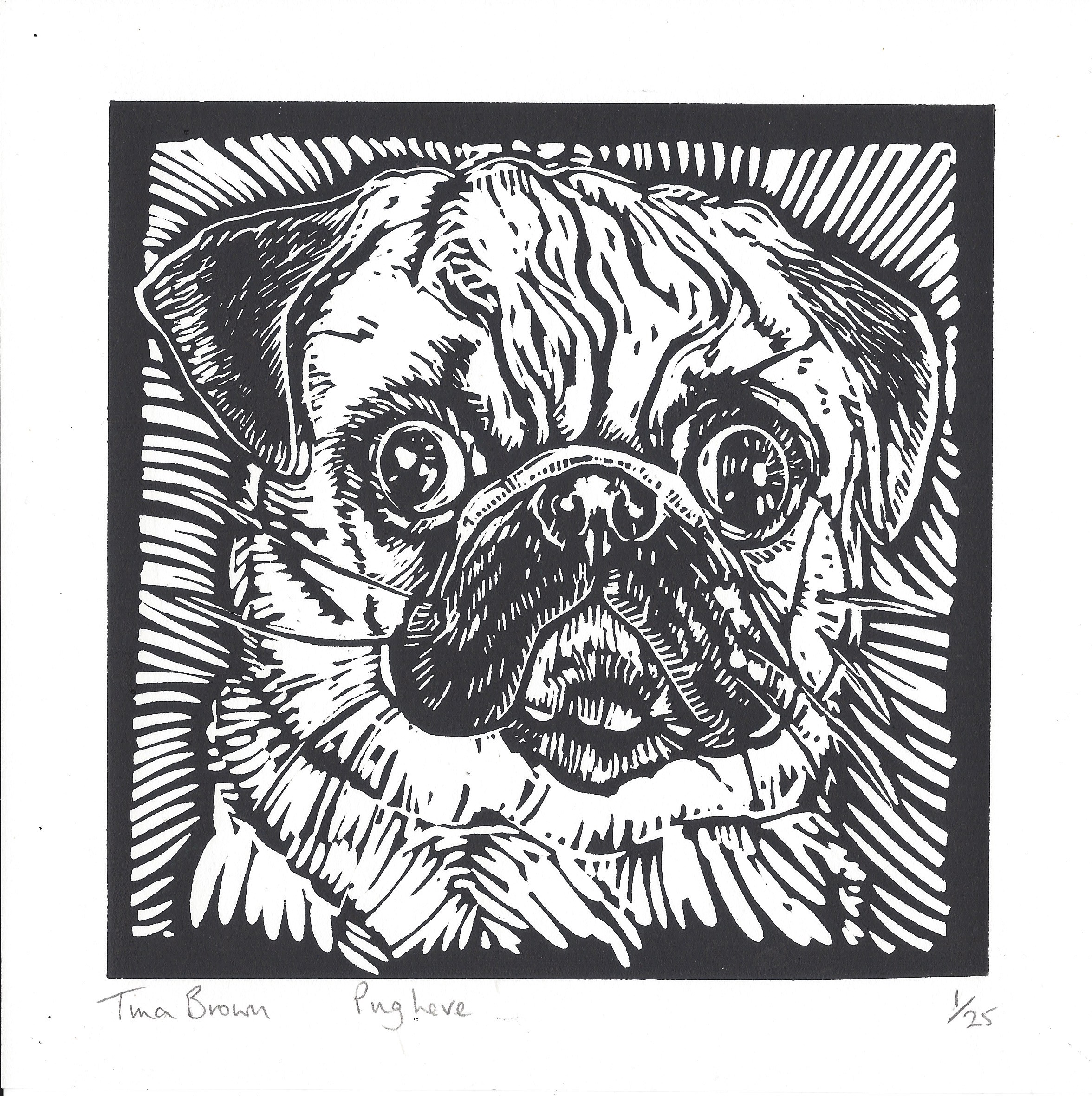 Pug Love - Tina Brown - Hazelnut Press 2015