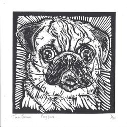 Pug Love - Tina Brown - Hazelnut Press 2015