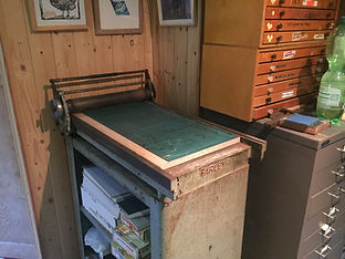 Hazelnut Press Farley Proofing Press