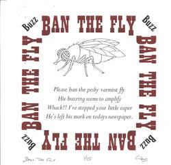 Glen Church's 'Ban the Fly'