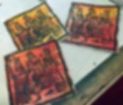 Linocut Christmas Workshop Three Kings Cards
