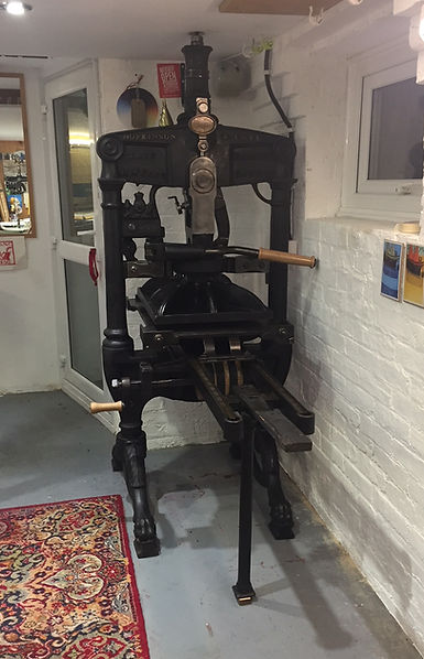 Hazelnut Press Medium Albion Press