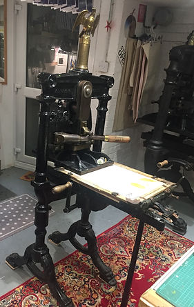 Hazelnut Press Foolscap Albion Press
