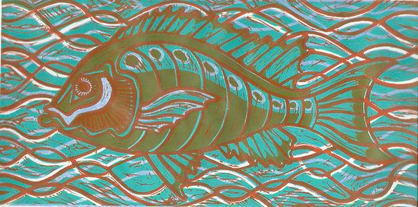 Frances Bray - Grumpy Fish Turquoise.jpg