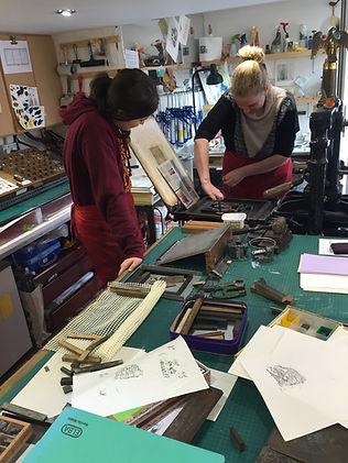 Letterpress printers