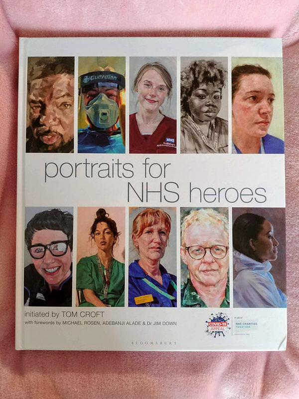 Frances Bray - Book cover 'Portraits for