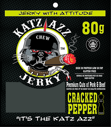 Cracked Pepper 80g Bag