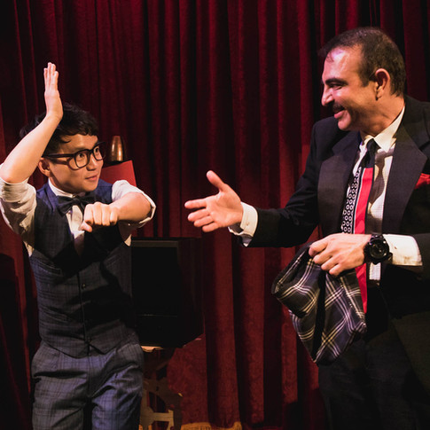 Comedy magic in Magic Castle