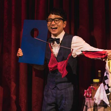 Comedy magic in Magic Castle