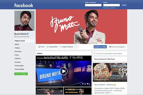 Criação de capa para Facebook