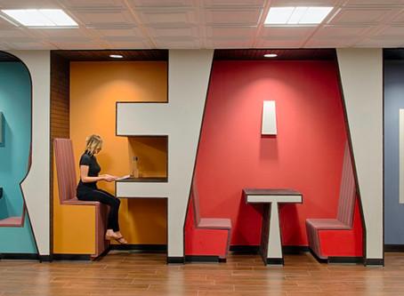 AMBIENTAÇÃO CORPORATIVA: As marcas se comunicam pelos ambientes profissionais