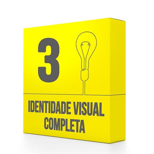 Pacote 3: IDENTIDADE VISUAL COMPLETA