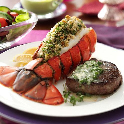 Surf & Turf - Lobster Tail &12oz RibEye