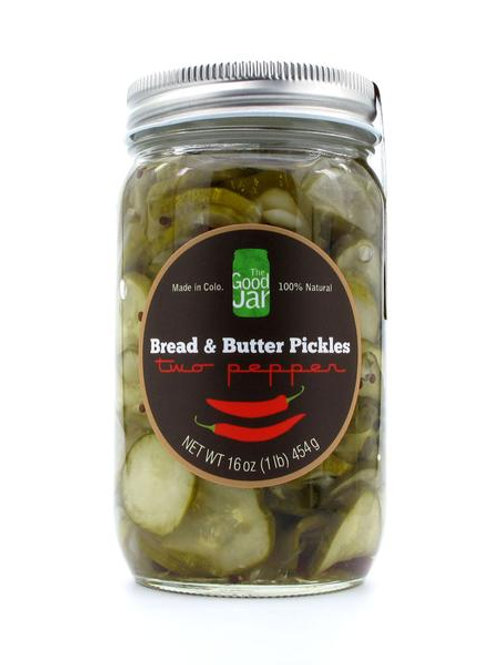 2-Pepper Bread & Butter Pickles