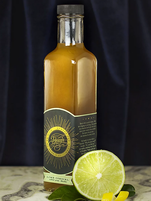 Bougie Lime Cordial