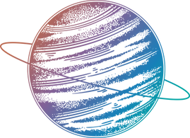 Rainbow Saturn PNG Astrology Marketing Consulting Austin Texas
