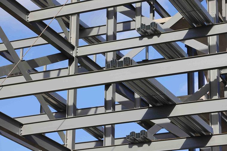 Stahlbau mit Trapezblechen