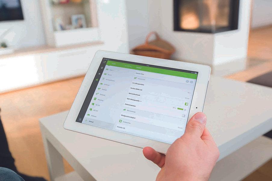 Bedienpanel für Smart Home