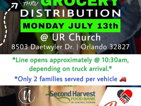 Food Drop Tomorrow Presented by URChurch.Life