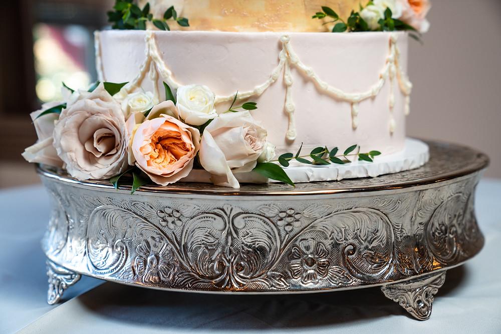 Feast Bloomington Wedding Cake