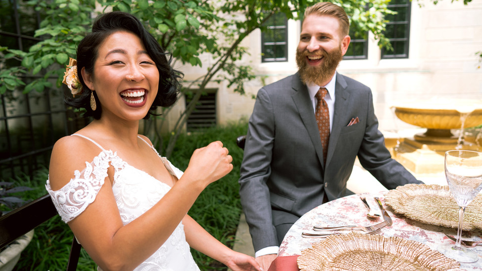 A European Wedding Styling at IU