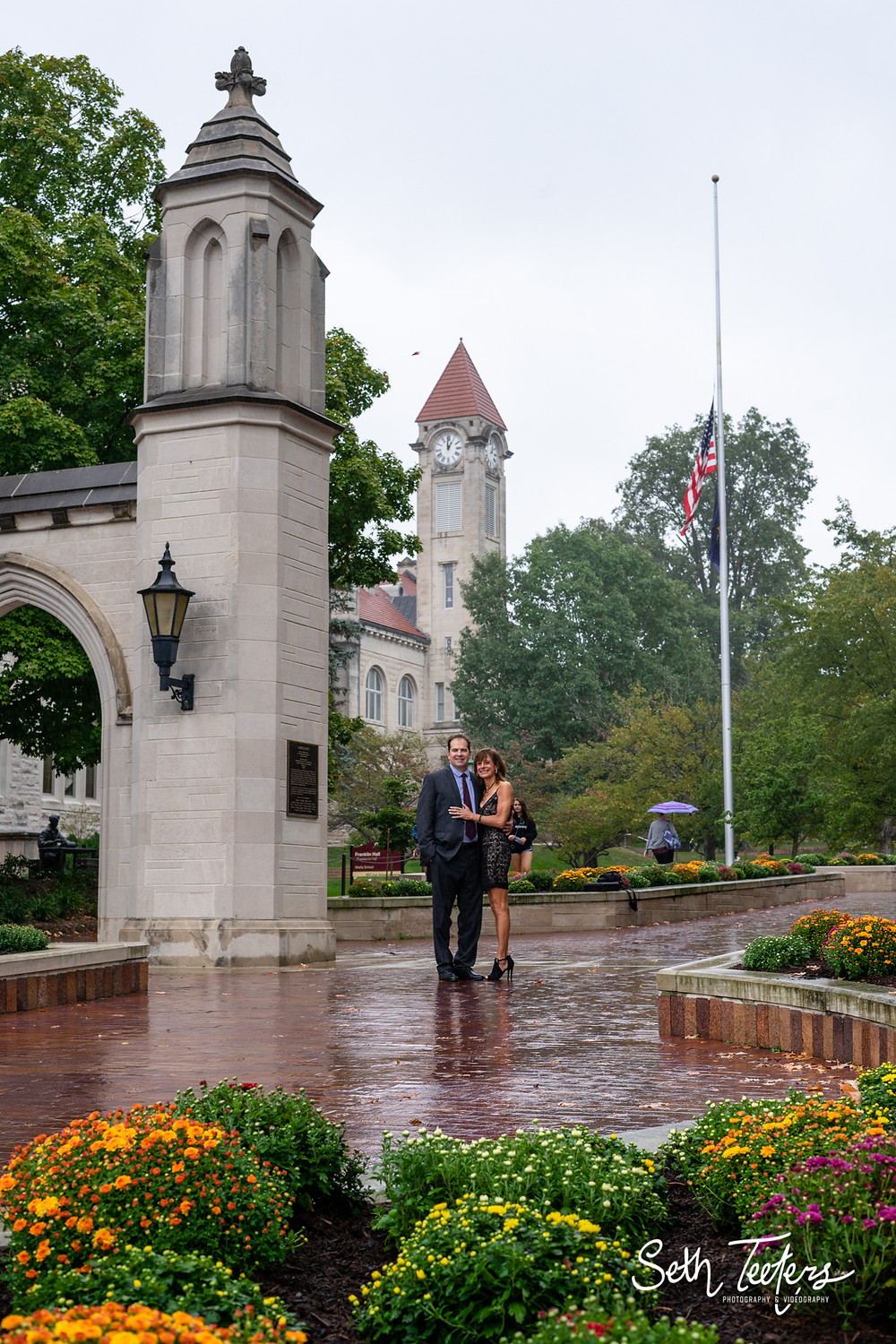 IU Campus Wedding