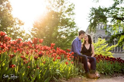 Bloomington Engagement Portraits