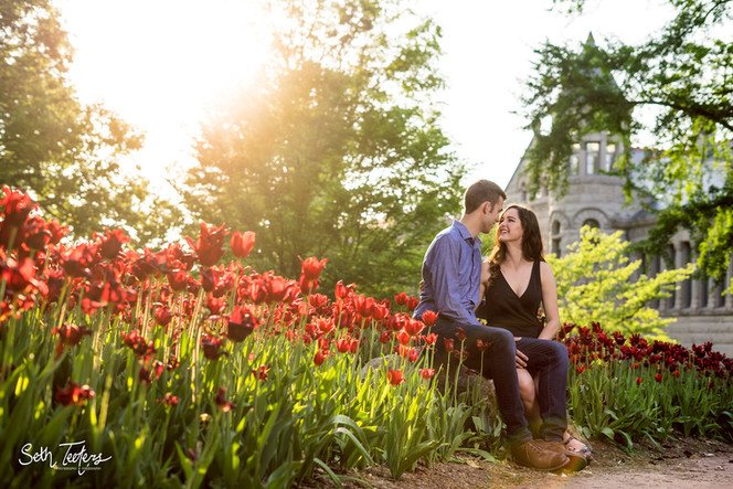 Bloomington Engagement Portraits
