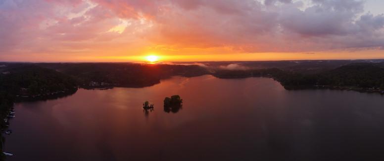 Lake Lemon Sunset