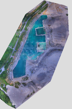 Victor Stone Quarry Drone Surveying Map