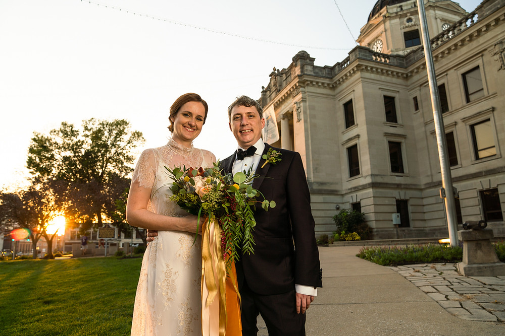Downtown Bloomington Wedding