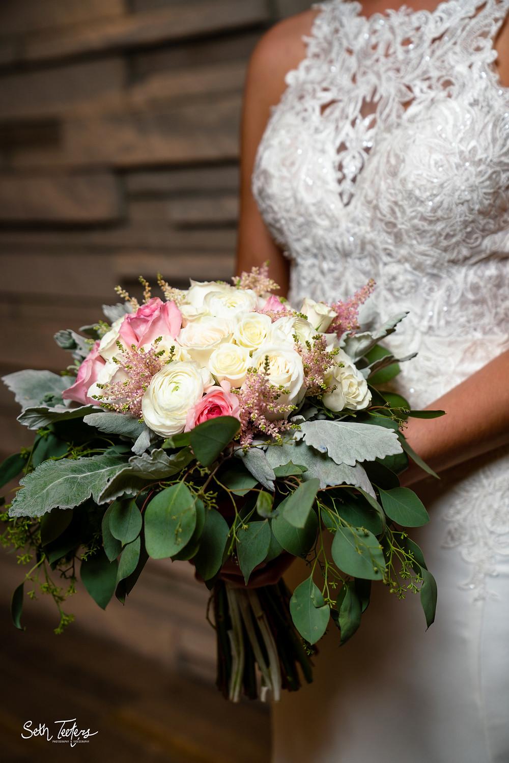 Mary M's Wedding Bouquet