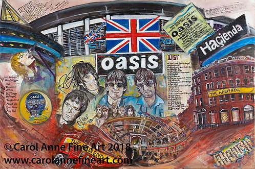 ALL ABOUT OASIS MANCHESTER