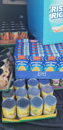 Food Donation to a Food Pantry