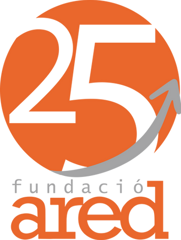 Logo for Ared Foundation's 25th anniversary