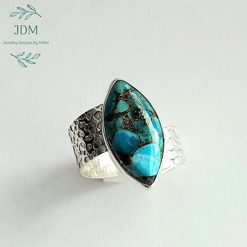 Mohave Turquoise Ring