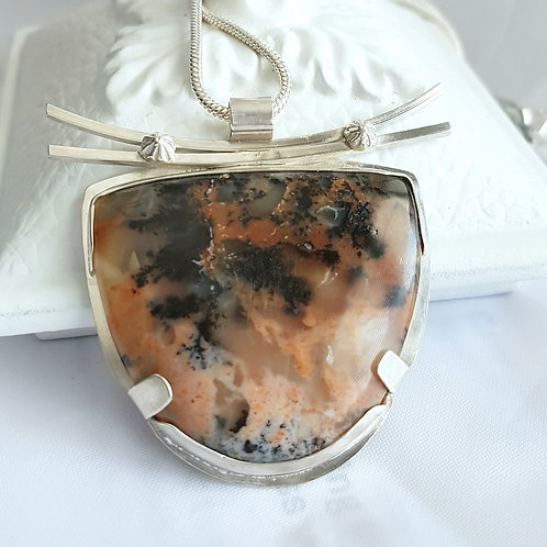 WaNang Dendritic Opalite Necklace