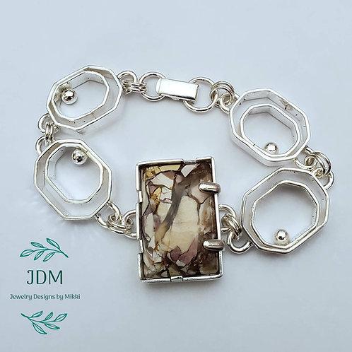Brecciated Mookaite Bracelet