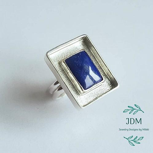 Lapis Lazuli Box Ring