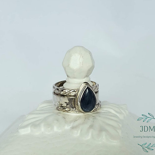 Kyanite Stacking Rings