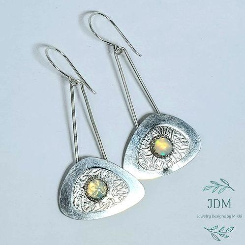 Opal Layered Earrings