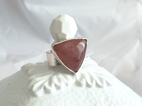 Strawberry Aventurine Ring
